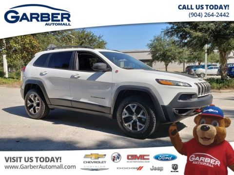 PRE-OWNED 2018 JEEP CHEROKEE TRAILHAWK V6 4WD 4WD