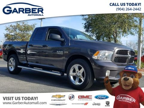 NEW 2018 RAM 1500 EXPRESS QUAD CAB® 4X2 6'4 BOX