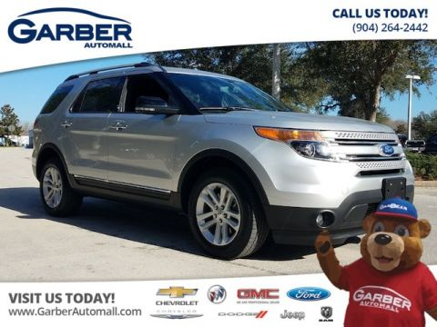 PRE-OWNED 2015 FORD EXPLORER XLT 4WD