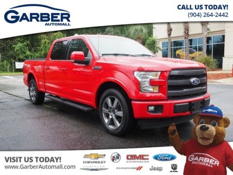 PRE-OWNED 2017 FORD F-150 4X2 LARIAT 4DR SUPERCREW 5.5 FT. SB