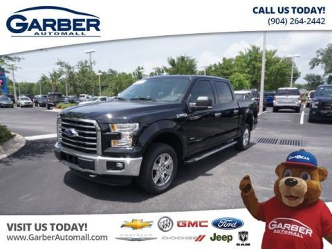 PRE-OWNED 2016 FORD F-150 4X4 XLT 4DR SUPERCREW 5.5 FT. SB 4WD