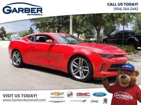 PRE-OWNED 2018 CHEVROLET CAMARO 1LT W/RS PACKAGE + SUNROOF