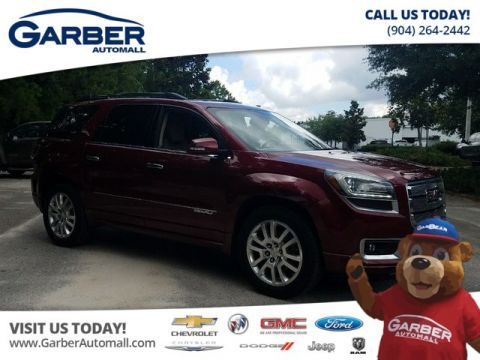 PRE-OWNED 2015 GMC ACADIA DENALI AWD W/NAVIGATION + DVD + SUNROOF AWD