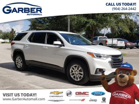 PRE-OWNED 2018 CHEVROLET TRAVERSE LT CLOTH CERTIFIED