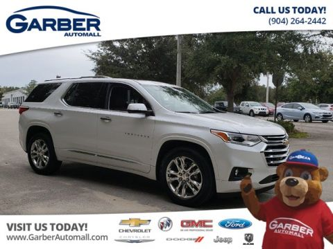 PRE-OWNED 2018 CHEVROLET TRAVERSE HIGH COUNTRY AWD