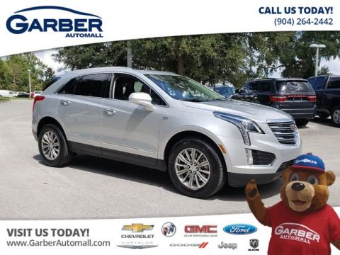 PRE-OWNED 2017 CADILLAC XT5 LUXURY W/SUNROOF  NAVIGATION AWD