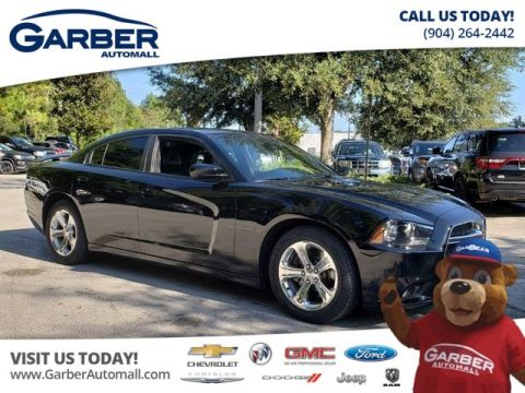 PRE-OWNED 2014 DODGE CHARGER R/T W/LEATHER + NAVIGATION