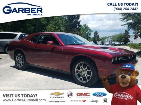 PRE-OWNED 2017 DODGE CHALLENGER GT AWD W/NAVIGATION + SUNROOF AWD
