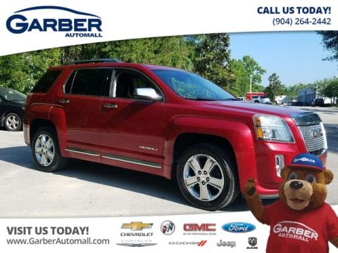 PRE-OWNED 2013 GMC TERRAIN DENALI W/SUNROOF FWD SUV