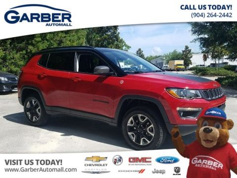 PRE-OWNED 2018 JEEP COMPASS TRAILHAWK 4X4 4WD