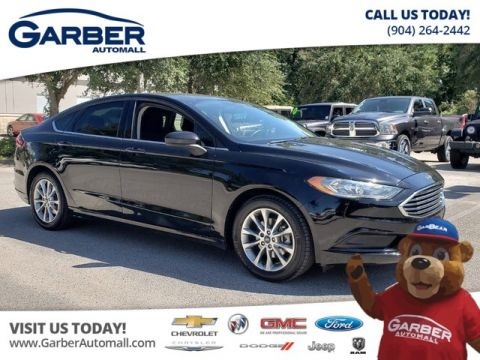 PRE-OWNED 2017 FORD FUSION SE W/BACKUP CAMERA FWD SEDAN