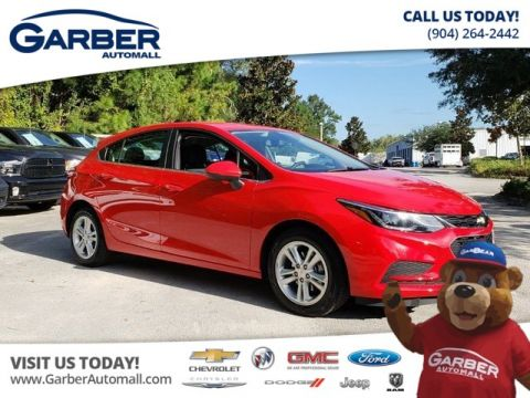 PRE-OWNED 2018 CHEVROLET CRUZE LT CERTIFIED