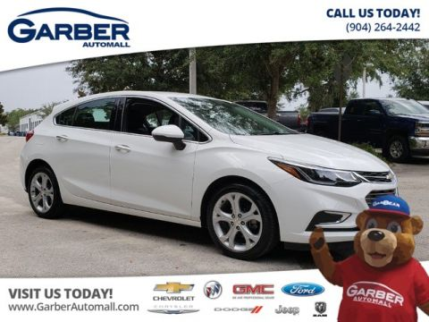 PRE-OWNED 2018 CHEVROLET CRUZE PREMIER CERTIFIED