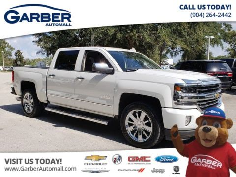 PRE-OWNED 2017 CHEVROLET SILVERADO 1500 HIGH COUNTRY CERTIFIED RWD TRUCK