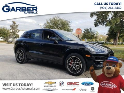 PRE-OWNED 2018 PORSCHE MACAN TURBO AWD