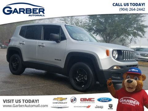 PRE-OWNED 2017 JEEP RENEGADE SPORT 4WD