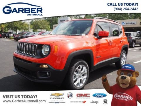 NEW 2017 JEEP RENEGADE LATITUDE 4X4