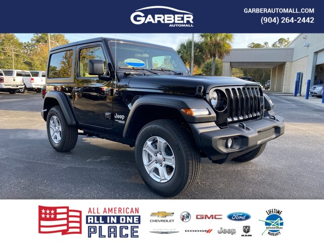 New 2020 Jeep Wrangler Sport 4x4, Tech Group, Hard Top