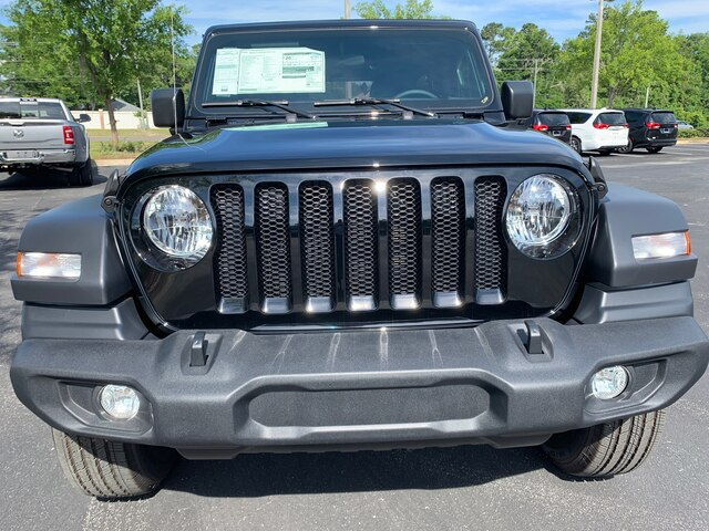 New 2019 Jeep Wrangler Unlimited Sport 4x4, Tech Package, Trailer Tow