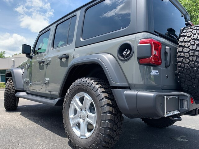 New 2019 Jeep Wrangler Unlimited JL Sport, ALL TERRAIN TIRES, HARD TOP