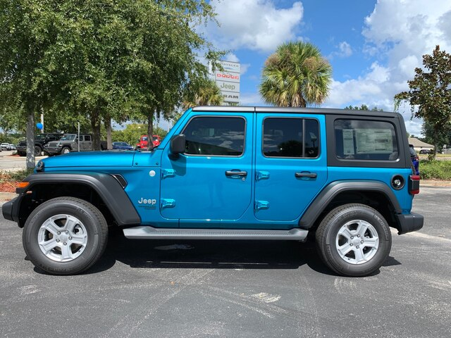 New 2020 Jeep Wrangler Unlimited Sport 4x4, Trailer Tow, Safety Group