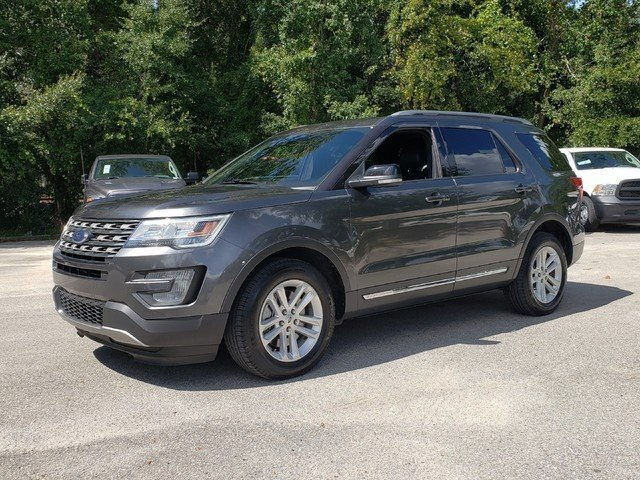 Pre-Owned 2017 Ford Explorer XLT w/Leather  EcoBoost