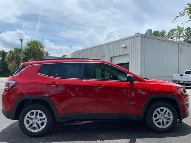 New 2019 Jeep Compass Sport, Tech Group, DEMO W/EXTRA REBATES