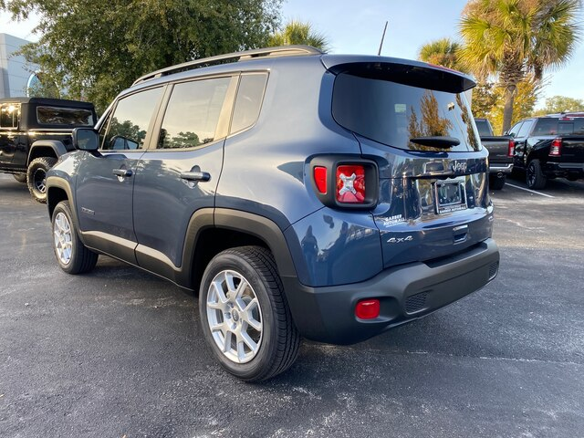 New 2020 Jeep Renegade Latitude 4x4, 8.4 in. Navigation