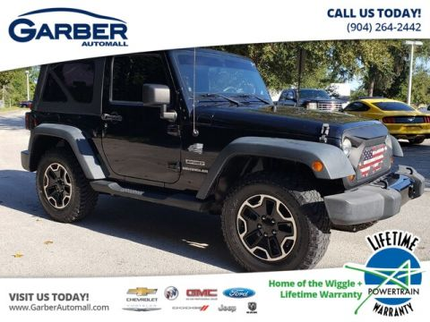PRE-OWNED 2012 JEEP WRANGLER SPORT 4WD