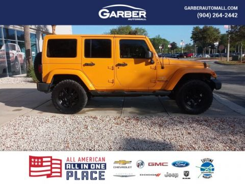 PRE-OWNED 2013 JEEP WRANGLER UNLIMITED SAHARA 4WD