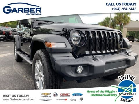 NEW 2019 JEEP WRANGLER UNLIMITED SPORT 4X4, TRAILER TOW GROUP, HARD TOP 4WD