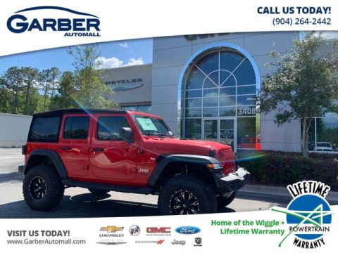 NEW 2019 JEEP WRANGLER UNLIMITED JL SPORT 24S LIFTED BAJA SPECIAL EDITION 4WD