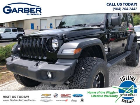 NEW 2019 JEEP WRANGLER UNLIMITED SPORT BAJA PACKAGE 4WD
