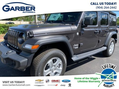New 2019 Jeep Wrangler Unlimited JL Sport 24S Pkg