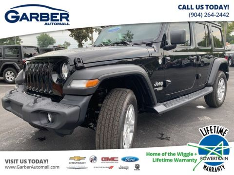 NEW 2019 JEEP WRANGLER UNLIMITED SPORT 4X4, HARD TOP, V6 4WD