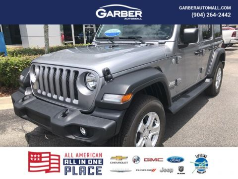 New 2019 Jeep Wrangler Unlimited Sport 4x4, Black Hard Top, Tech Package