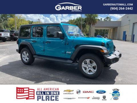 NEW 2020 JEEP WRANGLER UNLIMITED SPORT 4X4, TRAILER TOW, SAFETY GROUP 4WD
