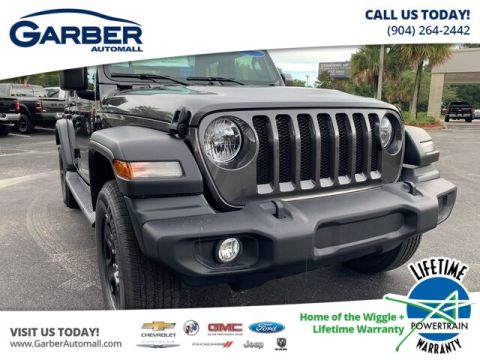 NEW 2020 JEEP WRANGLER UNLIMITED SPORT 4X4, TRAILER TOW, SOFT TOP 4WD