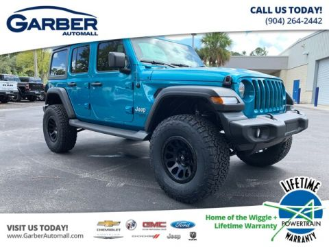 NEW 2020 JEEP WRANGLER UNLIMITED SPORT 4X4, BAJA EDITION 4WD