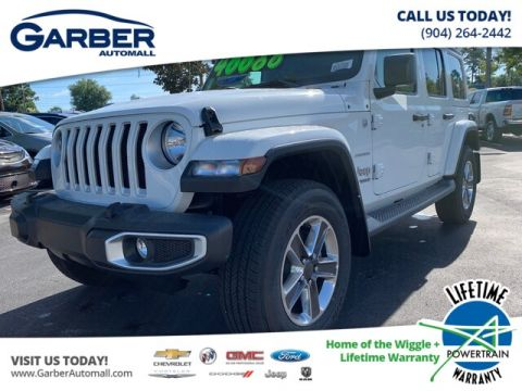 NEW 2019 JEEP WRANGLER UNLIMITED SAHARA 4X4 TRAILER TOW, LEATHER, REMOTE START 4WD