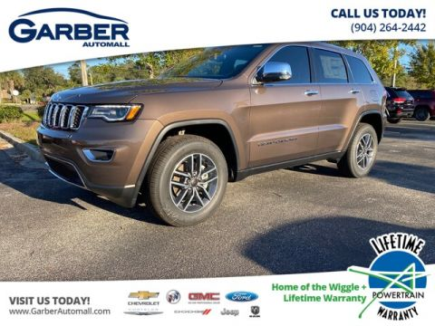 NEW 2020 JEEP GRAND CHEROKEE LIMITED 4X4, TRAILER TOW, LEATHER WITH NAVIGATION & 4WD