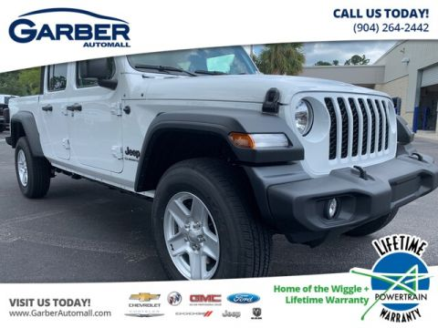 NEW 2020 JEEP GLADIATOR SPORT 4X4, SOFT TOP 4WD