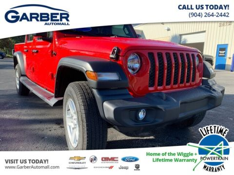 NEW 2020 JEEP GLADIATOR SPORT 4X4, TRAILER TOW, SOFT TOP 4WD