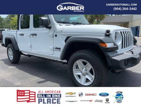NEW 2020 JEEP GLADIATOR SPORT 4X4, SOFT TOP, AUTO, 24S PACKAGE 4WD