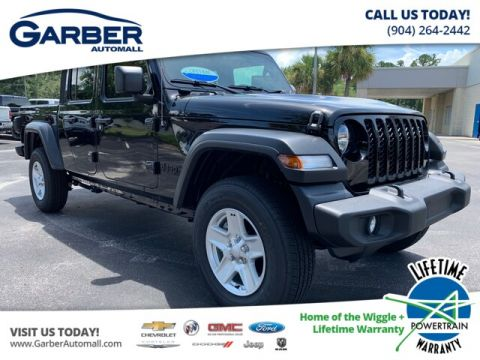 NEW 2020 JEEP GLADIATOR SPORT 4X4, , JEEP ACITVE GROUP, SOFT TOP 4WD