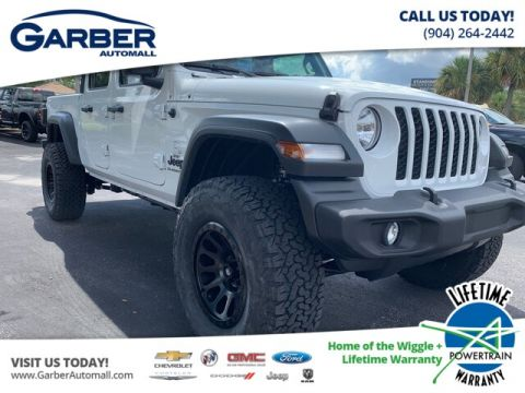 NEW 2020 JEEP GLADIATOR SPORT 4X4, BAJA EDITION, LIFTED 4WD