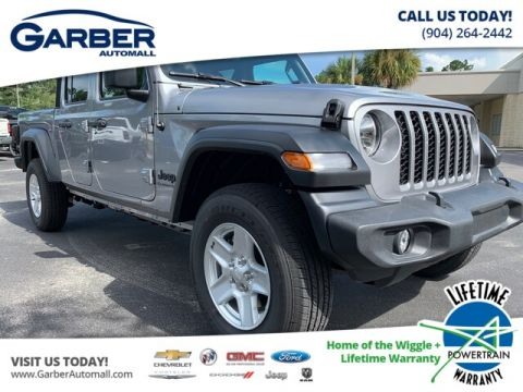 NEW 2020 JEEP GLADIATOR SPORT 4X4, TOW, SOFT TOP 4WD