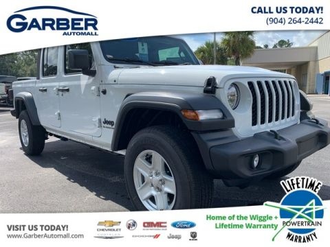 NEW 2020 JEEP GLADIATOR SPORT 4X4, ALPINE RADIO, TOW 4WD