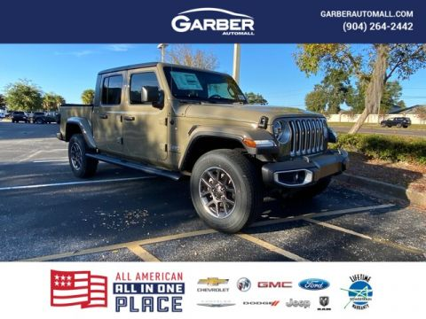 New 2020 Jeep Gladiator Overland Gator Green, all new, loaded