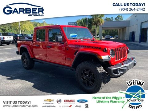 NEW 2020 JEEP GLADIATOR RUBICON 4X4, WIRELESS SPEAKER, FRONT CAMERA 4WD